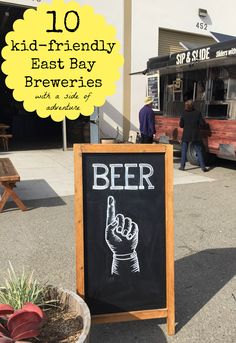 Here's a list of my favorite East Bay breweries that are serving up exceptional brews and a kid-friendly atmosphere. Budget friendly day trips from the San Francisco Bay Area. Get great ideas for family friendly trips in Northern California at www.TheThriftyTravelerCA.blogspot.com