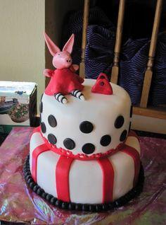 Olivia Party Cake - Olivia the Pig Birthday Cake Ideas