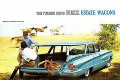 1960 Buick LeSabre 2-Seat Estate Wagon