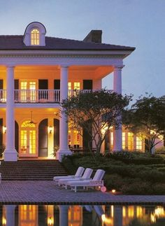 Beautiful, plantation manor: my fantasy, dream home, hands down!