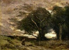 Jean Baptiste Camille Corot Gust of Wind print for sale. Shop for Jean Baptiste Camille Corot Gust of Wind painting and frame at discount price, ships in 24 hours. Nocturne, Oil On Canvas, Canvas Art, Munier, Equestrian Statue, Art Through The Ages, Poster Size Prints, Art Prints, Art Commerce