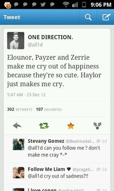yup. but I like them as harry and taylor the individuals that sing and make me laugh :)