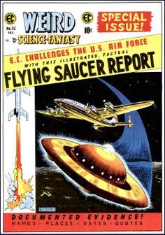 Weird Science-Fantasy, Dec. 1954, cover by Al Feldstein