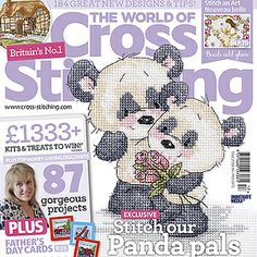 Take a look at the new issue 217 of The World of Cross Stitching magazine! Out in stores now, plus find the digital edition on iPad, GooglePlay for Android, Kindlefire and at zinio.com ;)