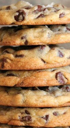 Copy Cat Ritz Carlton Chocolate Chip Cookies ~ They are awesome!