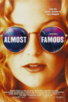 Almost Famous. Cameron Crowes semi autobiographical movie based when he covered the Allman Brothers band as a teenage writer for rolling stone.  Hilarious, touching, and the music is ok too.  When I was 14 I would have given anything to be William Miller.