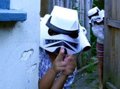 Lots of amazing DIY dressup outfits with accompanying pdf's. Love the storm trooper helmet.