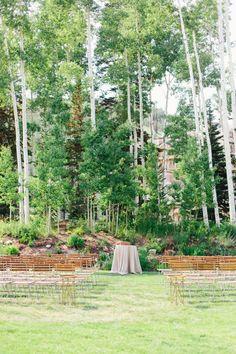 Park City ceremony: http://www.stylemepretty.com/utah-weddings/park-city/2015/05/12/organic-outdoor-mountain-wedding/   Photography: Kate Osborne - http://kateosbornephotography.com/