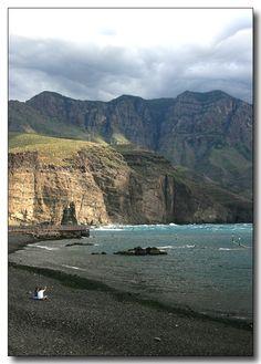 Spain, Canarias, Gran Canaria, Agaete Beach