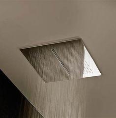Fantini acquazone rain shower + deluge (guest bath)