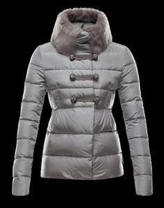 Doudoune Moncler Crecerelle Femme Gris Down Coat, Stay Warm, Winter  Jackets, Mon Cheri 84a94348850