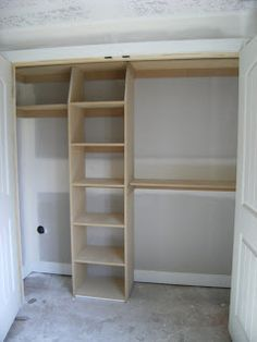 Closet Shelving DIY I so need to do this to a few of my closets