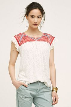 Evin Top #anthropologie