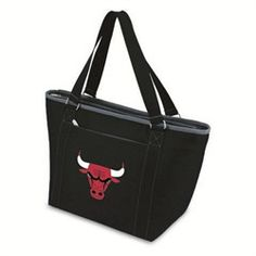 Chicago Bulls Insulated Cooler Tote Bag Lunchbox