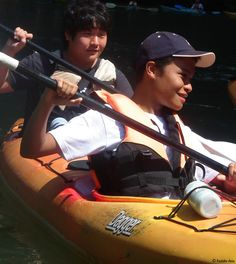 Our comfortable and roomy two-person kayaks.