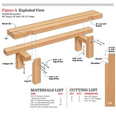 Diy Wooden Projects, Small Wood Projects, Diy House Projects, Diy Furniture Projects, Woodworking Projects Diy, Woodworking Plans, Woodworking Techniques, Woodworking Furniture, Wooden Garden Table