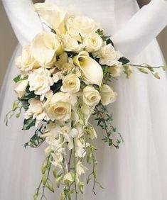 ramos de flores | Ramos de Novia de Flores de Alcatraces Naturales3