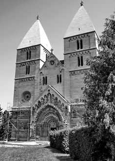Medieval Arpadian age abbey church, Ják, Hungary