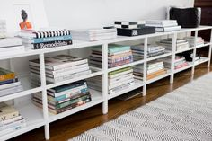 3 ikea media stands. The Genius Ikea Hack that Totally Makes this Revamped Master Bedroom