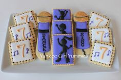 Dance Party Cookies by Yankee Girl Yummies