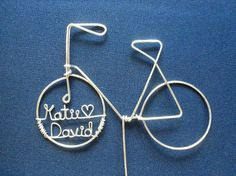 Custom Bicycle Cake Topper