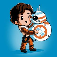 Best Friends in the Galaxy - This official Star Wars t-shirt featuring Poe Dameron and is only available at TeeTurtle! Star Wars Fan Art, Droides Star Wars, Star Wars Droids, Star Wars Gifts, Star Wars Party, Star Wars Quotes, Star Wars Humor, Tableau Star Wars, Geeks
