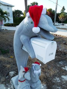 Christmas Dolphin Mail Box | Chris Griffith | Flickr