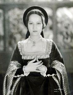Merle Oberon as Anne Boleyn