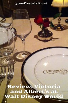 Disney World Restaurants: Dining at Victoria and Albert's at Disney's Grand Floridian Resort & Spa | Review from yourfirstvisit.net #DisneyWorldTips #DisneyWorldDining #DisneyWorldRestaurants Disney World Deals, Disney World Food, Disney World Restaurants, Disney World Planning, Walt Disney World Vacations, Disney Drinks, Disney Snacks, Disney World Characters, Disney World Theme Parks