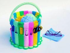 Needle Work / Handicraft Bucket