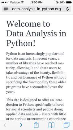 http://www.data-analysis-in-python.org