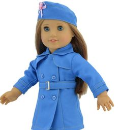 American girl doll outfit more like veterans outfit