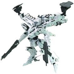Kotobukiya Plastic Model Armored Core Variable Infinity : White Glint and V.O.B Set #armoredcore #whiteglint #plasticmodel #kotobukiya #hypetokyo