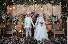 Wedding Ceremony Music, Rustic Wedding Backdrops, Rustic Garden Wedding, Wedding Reception Backdrop, Outdoor Wedding Decorations, Cascading Wedding Bouquets, Wedding Preparation, Simple, Wedding Inspiration