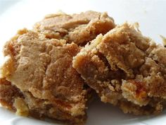 Apple spice bars - and several other bar recipes