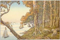 Henri Riviere (1864 -1951) French artist and designer