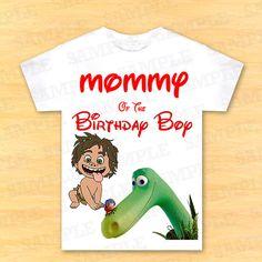 Mommy of the birthday boy, the good dinosaur t shirt