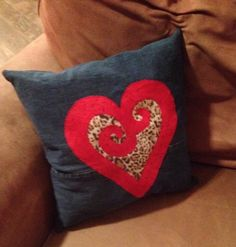 Beautiful appliqué Heart pillow by Rustic crafts ...   Find us on Facebook
