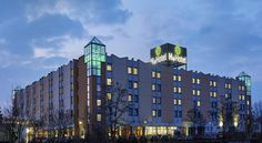 H+ Hotel Leipzig-Halle (ex Ramada Hotel Leipzig-Halle) Halle an der Saale This 4-star hotel beside the A14 motorway offers free parking and a spa. It is located in the eastern part of Halle (Saale), a 10-minute drive from the historic city centre.