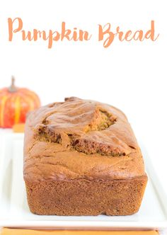 Are you looking for a pumpkin bread that tastes amazing with some butter and spiced up with all the right pumpkin pie spices? You are. Trust me.