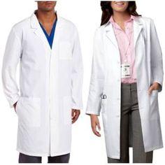Unisex Cherokee Medical White Lab Coat Size M - Medium #Cherokee