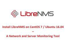 Install Librenms On Centos 7 Ubuntu 16 04 A Network Monitoring