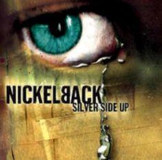 Nickelback silver side up (eye) album cover art #music