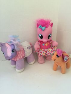 My Little Pony Pinkie Pie Walks Talks Plush Pony Lot of 2 | eBay