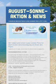 August-Sonne-Aktion & News