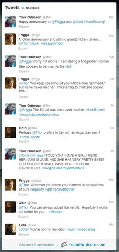 If you give a god a laptop, he's going to want a Twitter account. | What Happens When Thor Discovers The Internet?