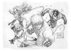 King Of Fighters - K's Team by werder.deviantart.com on @deviantART