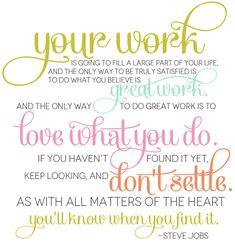 steve-jobs-quote.  #stevejobs #stevejobsquotes #kurttasche