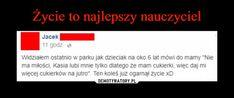 Demotywatory.pl Very Funny Memes, Wtf Funny, Best Memes, Haha, Jokes, Humor, Quote, Hilarious Memes, Husky Jokes
