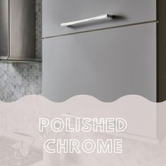 Polished Chrome cabinet hardware adds sleek shine and style to kitchens and baths. Plus, Top Knobs' completely sealed finish means it won't show wear; especially on the knobs and pulls used most.